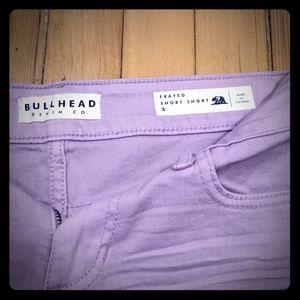 Lavender Shorts